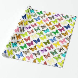 Papel De Regalo Collage de la mariposa