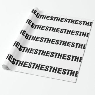 Papel De Regalo Cuchilla del mac de la anestesia