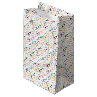 Papel de regalo de las gafas bolsa de regalo pequeña