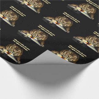 Papel De Regalo Deseos mágicos del leopardo Mage