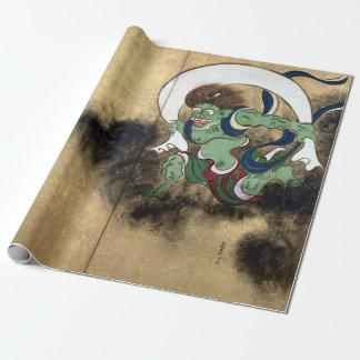 Papel De Regalo Dios del viento de Ogata Kōrin