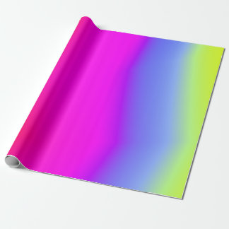 Papel De Regalo Diversión multicolora Arco iris-Como modelo