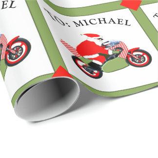 Papel De Regalo el competir con del motocrós