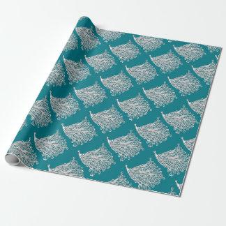 Papel De Regalo Envoltorio para regalos del pavo real - opciones