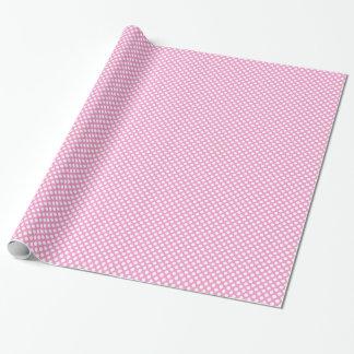 Papel De Regalo Envoltorio para regalos rosado de la fiesta de