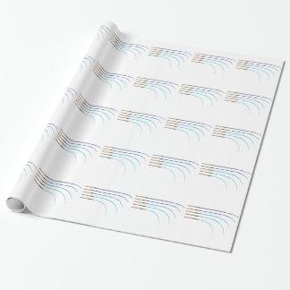 Papel De Regalo Espacios en blanco curvados vector doblado de la