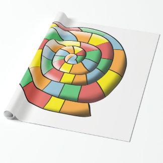 Papel De Regalo Espiral colorido