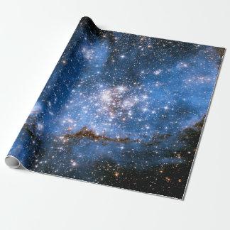 Papel De Regalo Estrellas infantiles de la nebulosa NGC 346 - foto