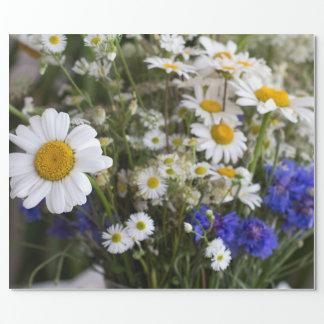 Papel De Regalo Flores salvajes