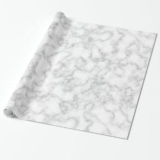 Papel De Regalo Fondo de piedra veteado de mármol del blanco gris
