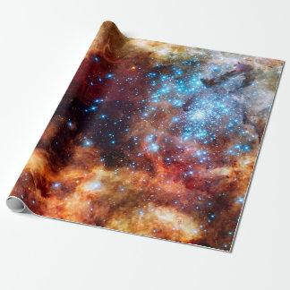 Papel De Regalo Foto estelar de la NASA de la nebulosa del
