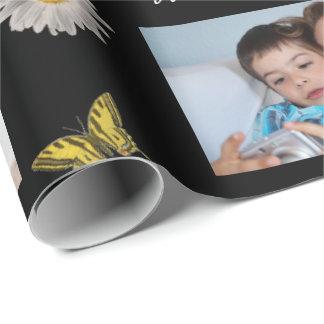 Papel De Regalo Fotos w/Butterflies del día de madre 3