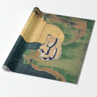 Papel De Regalo Gongo Wang del Tai por Ogata Korin