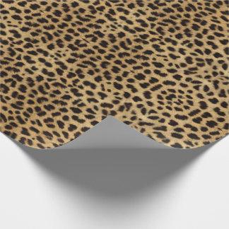 Papel De Regalo Impresión del guepardo