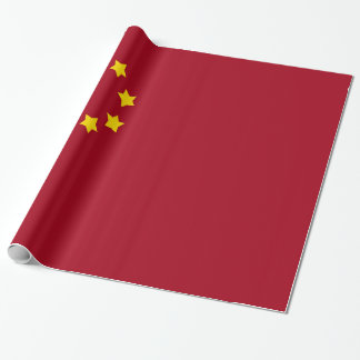 Papel De Regalo La bandera de la República Popular China