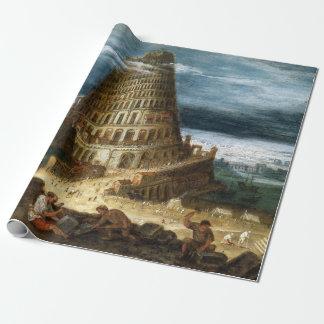 Papel De Regalo La torre de Babel