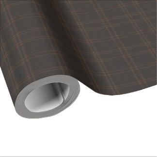 Papel De Regalo Lago de la tela escocesa de Aboyne