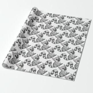 Papel De Regalo Lemur