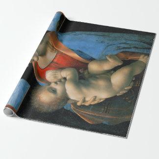 Papel De Regalo Leonardo da Vinci Madonna Litta