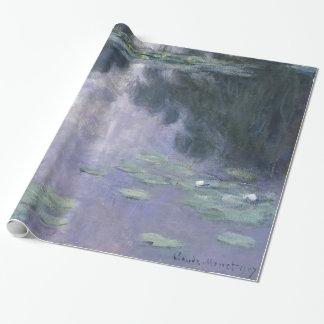Papel De Regalo Lirios de agua de Claude Monet Nymphéas 1907