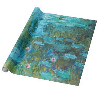 Papel De Regalo Lirios de agua de Claude Monet Nymphéas GalleryHD