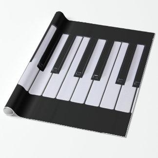 Papel De Regalo Llaves clásicas del piano