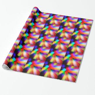 Papel De Regalo Luces borrosas del multicolor