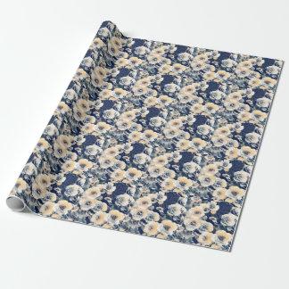 Papel De Regalo Mar de las flores (papel de embalaje)