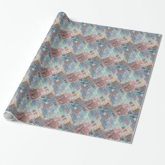 Papel De Regalo Modelo colorido de las capas