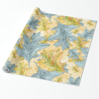 Papel De Regalo Modelo de las hojas de otoño