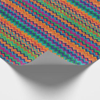 Papel De Regalo Modelo multicolor de Chevron