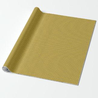 Papel De Regalo Modelo triangular amarillo