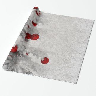 Papel De Regalo Navidad blanco
