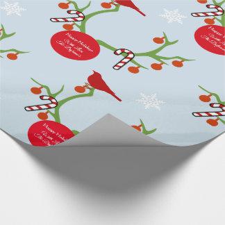 Papel De Regalo Navidad personalizado de las astas del reno