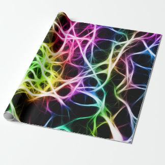 Papel De Regalo Neurona colorida sana