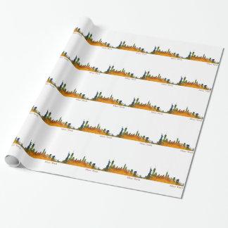 Papel De Regalo New York watercolor Skyline