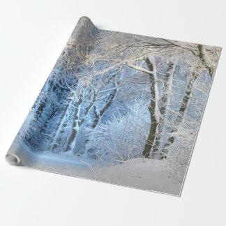 Papel De Regalo Otro país de las maravillas del invierno