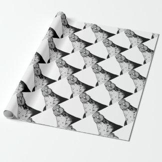 Papel De Regalo Pájaros mudos