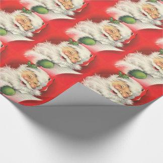 Papel De Regalo Papá Noel/papel de embalaje del navidad