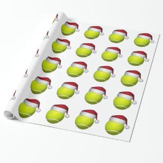 Papel De Regalo Pelota de tenis del navidad