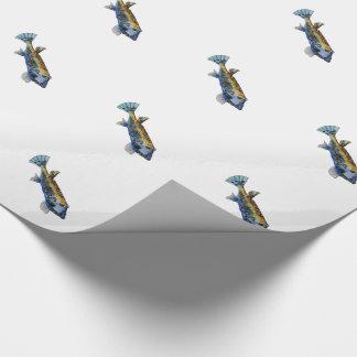 Papel De Regalo Pescados geométricos