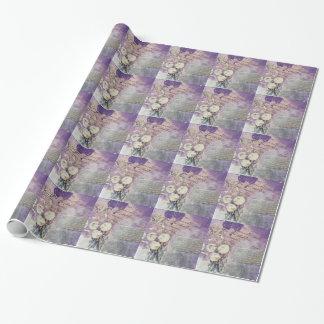 Papel De Regalo Pétalos violetas - colección