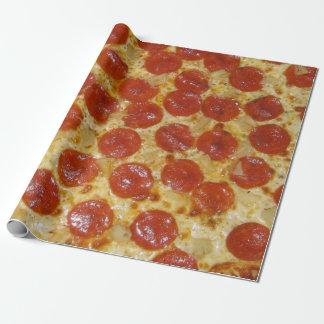 Papel De Regalo Pizza de salchichones