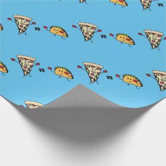 Papel De Regalo Pizza de salchichones CONTRA el Taco: Mexicano