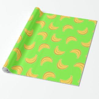 Papel De Regalo Plátanos que van en verde
