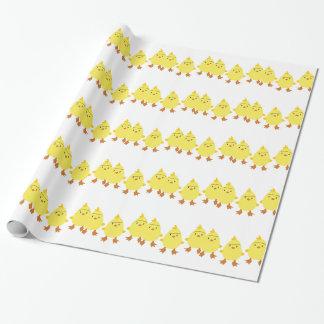 Papel De Regalo Polluelos del bebé