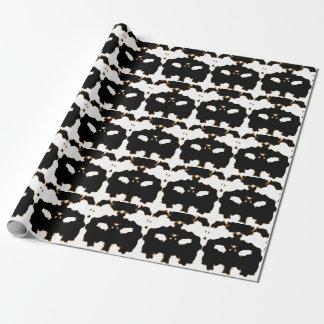Papel De Regalo Prueba de Rorschach de una tarjeta de la mancha