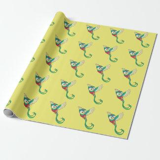 Papel De Regalo ¡Quetzal colorido!
