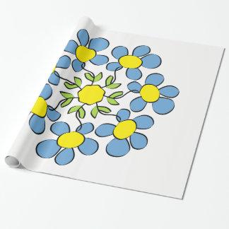 Papel De Regalo Ramo de flores de la primavera