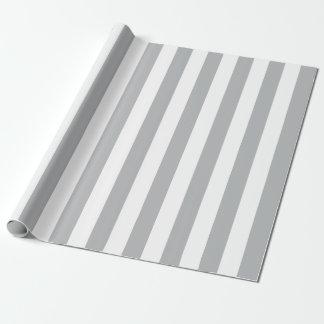 Papel De Regalo Rayas verticales grises